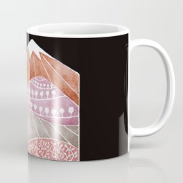 Tatry mountains, sheep watercolor landscape nature Coffee Mug