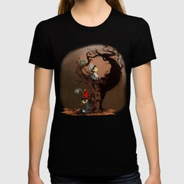 Over The Garden Wall- Wirt, Greg, Beatrice, and The Beast T-shirt