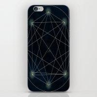sacred geometry iPhone & iPod Skins featuring Geometry Sacred by BlueGardenia36