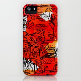 Ardiendo II iPhone Case