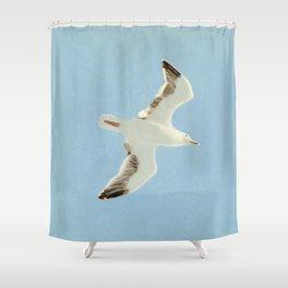 Sky Blue Sky - A Shower Curtain