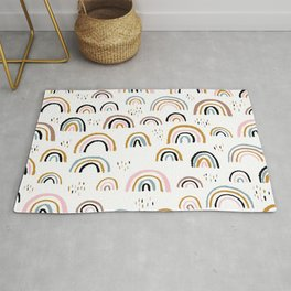 Love is love rainbow dreams Rug