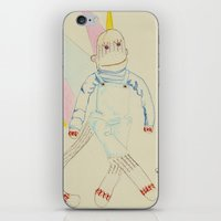 murray iPhone & iPod Skins featuring 18. Murray by chowdair