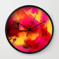 persona Wall Clocks featuring clown persona by R,oh