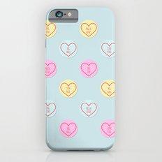 Pug Hearts iPhone 6s Slim Case