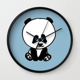 Chalkies panda color 5 Wall Clock