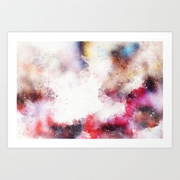 Abstract Background 326 Art Print