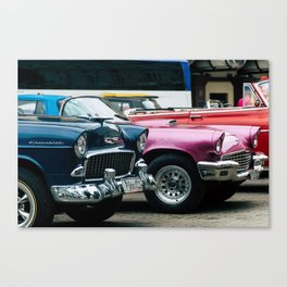 Vintage American Canvas Print