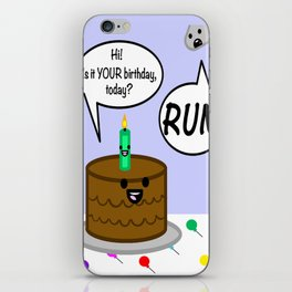 Happy Birthday to me iPhone Skin