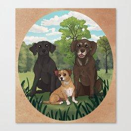 The Flints Canvas Print