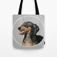 scully Tote Bags featuring Classic Scully by Ben Goetting