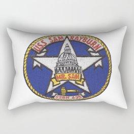 USS SAM RAYBURN (SSBN-635) PATCH Rectangular Pillow