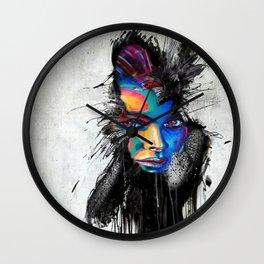 Facial Expression Wall Clock