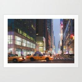 Midtown Rush - NYC Photography Art Print