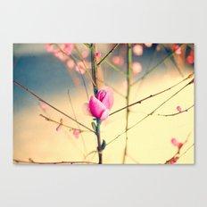 Textured Bloom Canvas Print