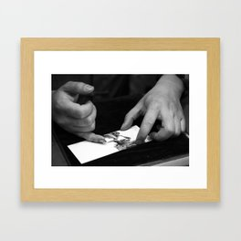 colorless shanghai2 Framed Art Print