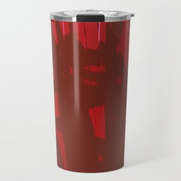 Deep Red Travel Mug