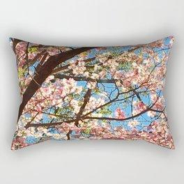 Under the Dogwood Branches Rectangular Pillow