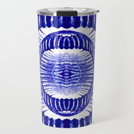 Blue Indigo Travel Mug