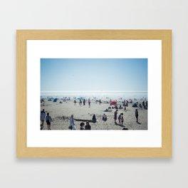 Sunday at Cannon Beach Framed Art Print