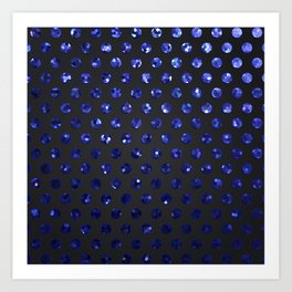 Polkadots Jewels G194 Art Print