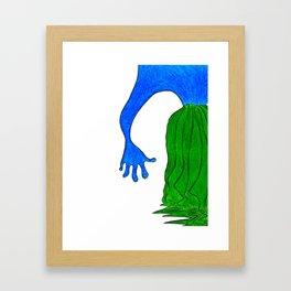 The calm [2] Framed Art Print
