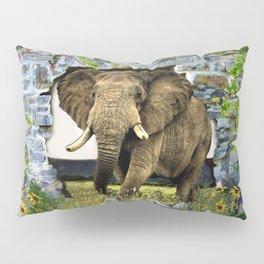 African Elephant Pillow Sham
