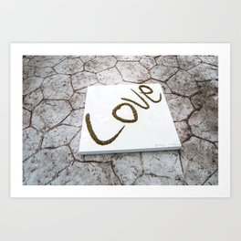 WRIGHT LOVE Art Print