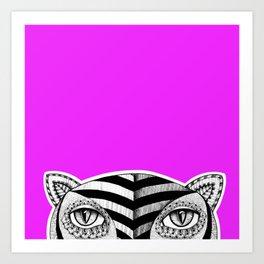 Tiger P Art Print