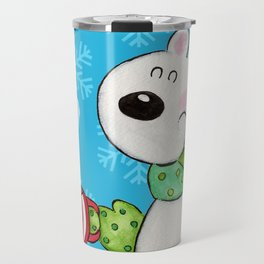 Hot Cocoa Polar Bear Travel Mug