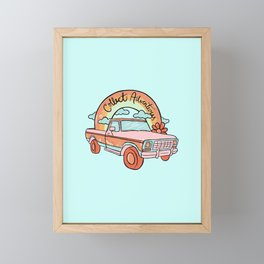 Collect Adventures Framed Mini Art Print