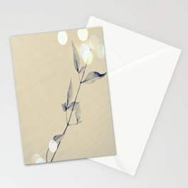 lonely leaves  Stationery Cards