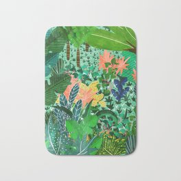 Dense Forest Bath Mat
