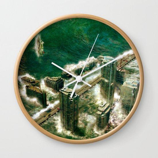 Ocean View Wall Clock