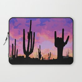 Signs seen in the Desert  Laptop Sleeve