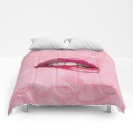 Pinky Lips Comforters
