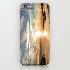 Plum Cove Beach Sunset Painting Slim Case iPhone 6s