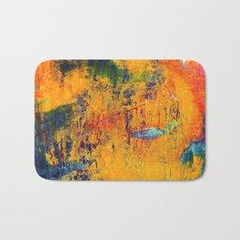 Imaginaere Landschaft II abstrakte Malerei Bath Mat