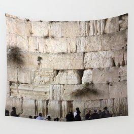 Jerusalem - The Western Wall - Kotel #4 Wall Tapestry