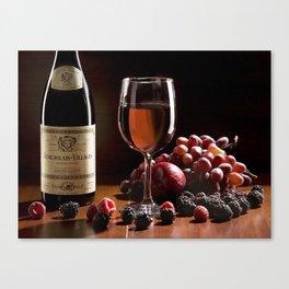 Tableau du Vin Canvas Print