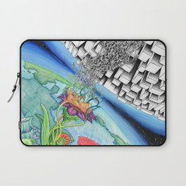 Two Worlds Laptop Sleeve