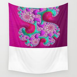 Pink Frenzy Wall Tapestry