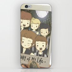 One Direction Story of My Life Cartoon iPhone Skin