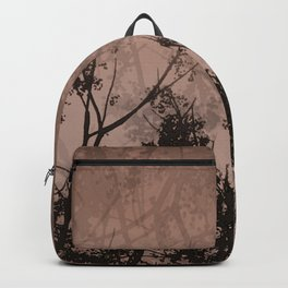 Branches in the Sky-Brown Backpack