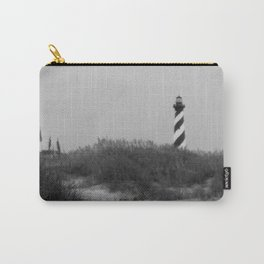 Hatteras Black & White Carry-All Pouch