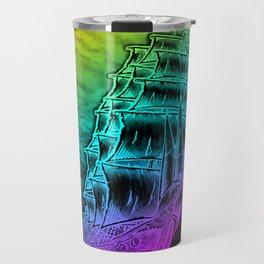 Caleuche Ghost Pirate Ship - Color Travel Mug