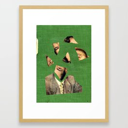 cutface Framed Art Print