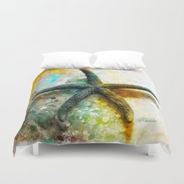 Starfish Impression Duvet Cover