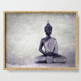 Buddha  - JUSTART © Serving Tray