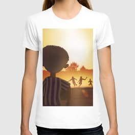 One Day | Soccer in the Heat of day T-shirt